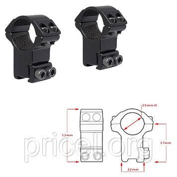 Кольца Hawke Matchmount 1/9-11mm/Low (920805)