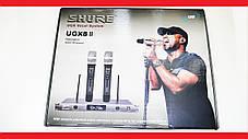 Радиосистема SHURE UGX8II 2 микрофона, фото 2