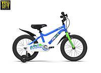 """Велосипед детский RoyalBaby Chipmunk 14"""" синий OFFICIAL UA, фото 1"""