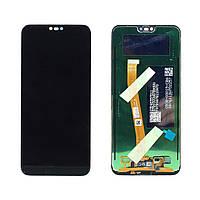 Дисплей Huawei Honor 10 со сканером отпечатка пальца + сенсор Черный original