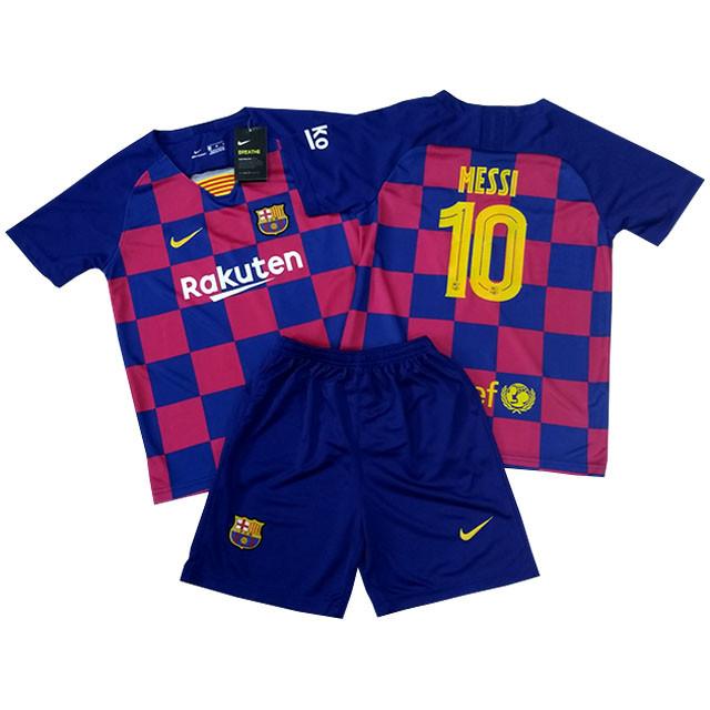 Футбольная форма для детей ФК Барселоны Месси сезон 2019-2020г, фото 1