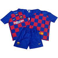 Футбольная форма для детей ФК Барселоны  сезон 2019-2020г