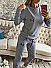 """Женский спортивный костюм """"Under"""". Цвет: серый, черный, бордо"""