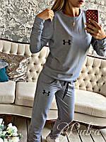 """Женский спортивный костюм """"Under"""". Цвет: серый, черный, бордо, фото 1"""