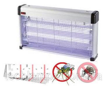 Уничтожитель насекомых KL-40 3х18W с клеевой подложкой