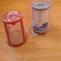 Комплект фильтр Hepa Electrolux EF75B и защитная сетка для пылесоса Electrolux Ergoeasy ZTF 7610-7690 Оригинал