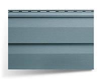 Сайдинг двухпереломный стеновой; 3,66х0,23;  серо-голубой ; Альта-Сайдинг