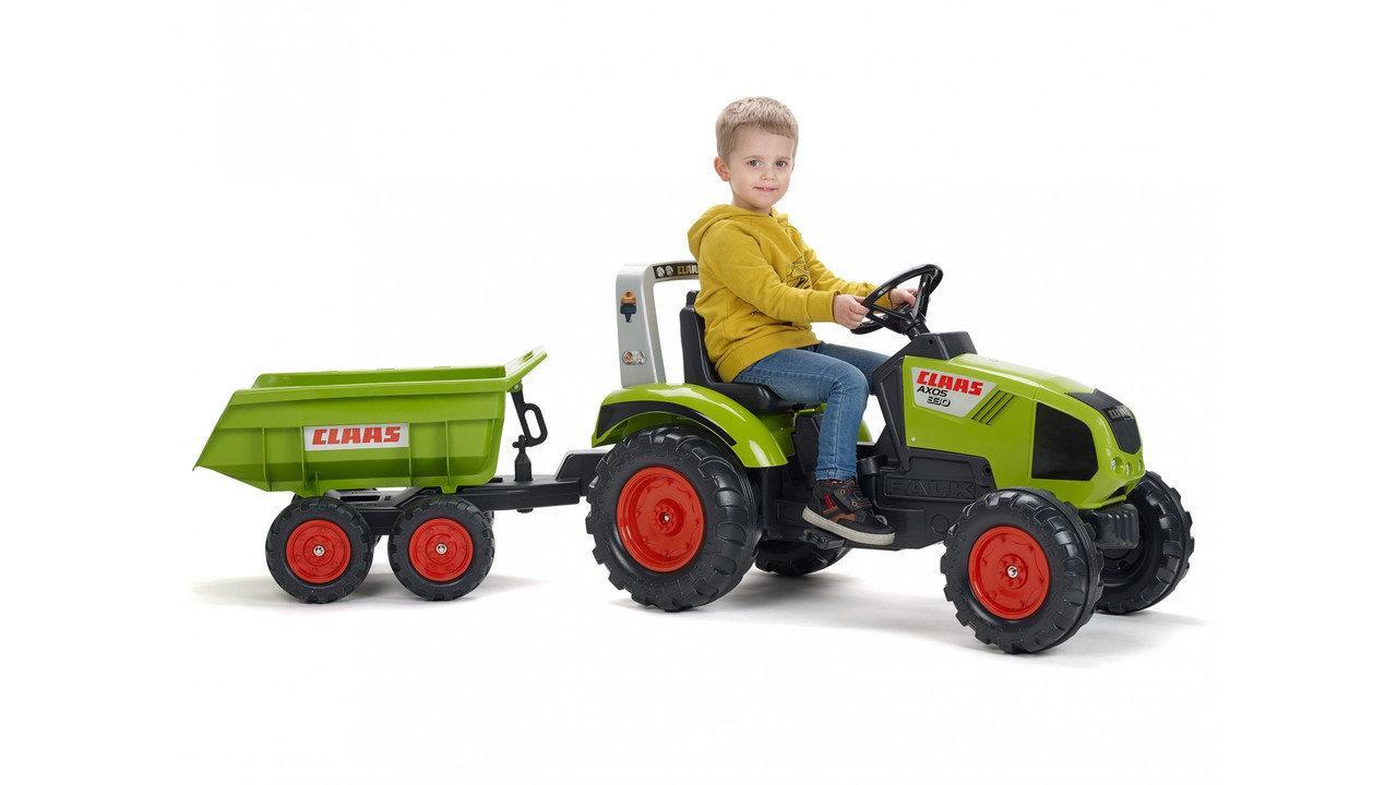 Педальный трактор для деток от 3 лет,Falk 1011Q