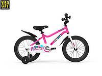 """Велосипед детский RoyalBaby Chipmunk 16"""", розовый OFFICIAL UA, фото 1"""