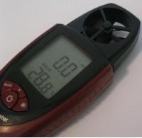 Термоанемометр (скорость, температура, объемный расход)
