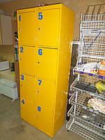 Ячейки для хранения товара металлические., фото 1