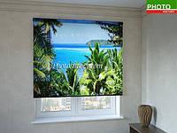 Рулонные шторы с фотопечатью без запаха. Экологически чистый продукт.
