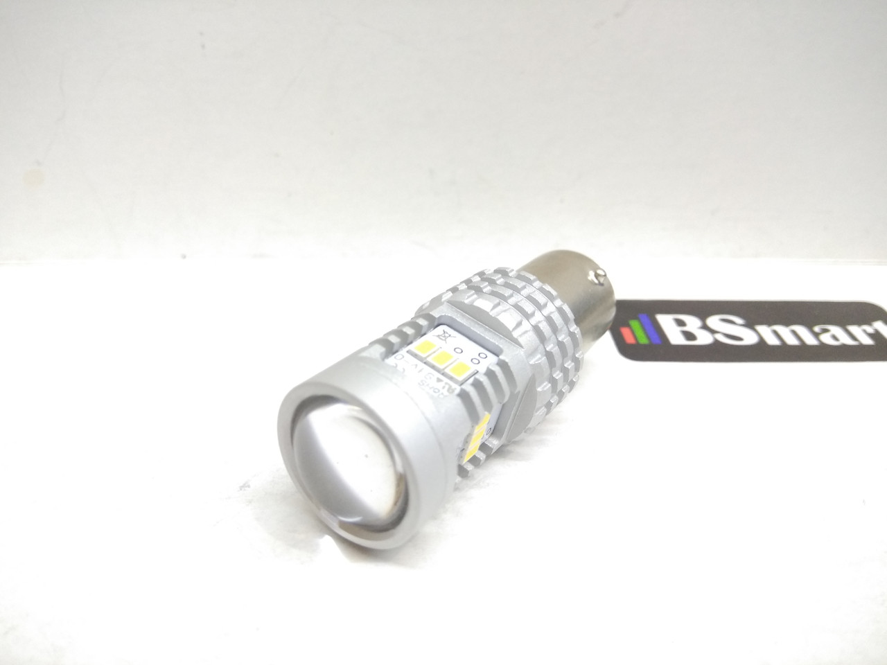Автолампа LED, P21W, 1156, 14 SMD 2030, 9-16V, Белая