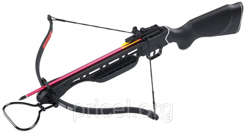 Арбалет Man Kung MK-150A1PB, Рекурсивный, винтовочного типа, пластик. приклад ц:черный (MK-150A1PB)