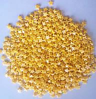 Посыпка желтые звездочки 50 грамм