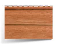 Сайдинг двухпереломный стеновой; 3,66х0,23;  дуб светлый; Канада Плюс, Премиум