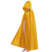 Карнавальный плащ Миледи (желтый)