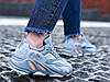 """Кроссовки женские Adidas Yeezy 700 Boost """"Inertia"""" (Размеры:37,38,39,40), фото 3"""