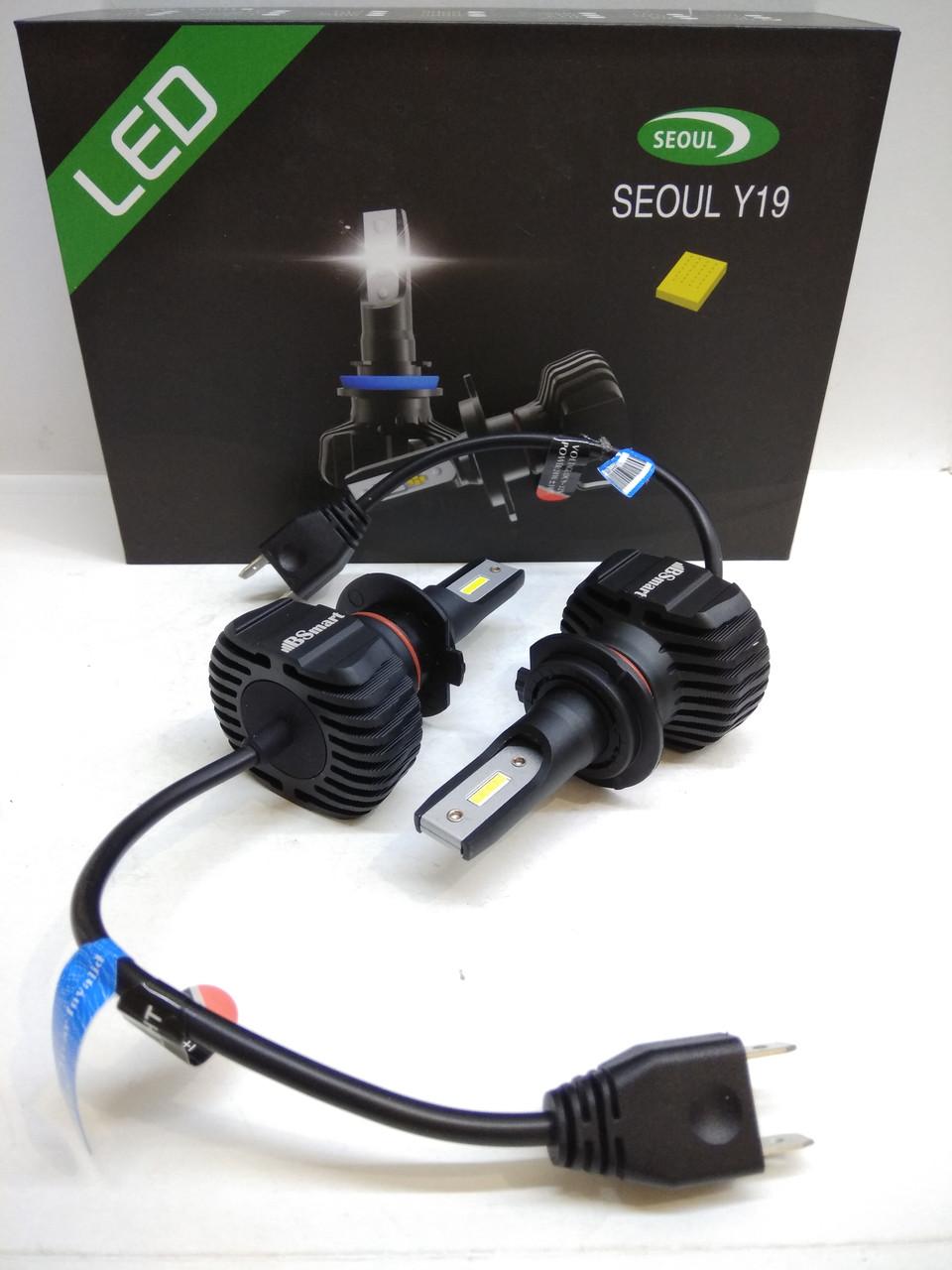 Авто лампи LED світлодіодні BSmart S1plus CSP Південна Корея H7 9000Лм 40Вт 12-24В