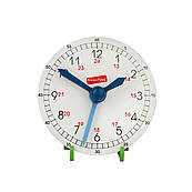 Годинник навчальні дерев'яні (макет), Komarovtoys