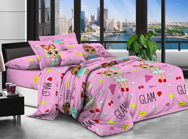 Детский комплект постельного белья 150*220 хлопок (12642) TM KRISPOL Украина, фото 2