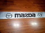 Виниловые наклейки на лобовое стекло MAZDA  135х10 см, фото 2