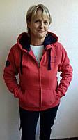 Куртка  спортивная теплая с замком и капюшоном фирма Heavy Tools