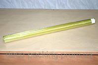 Темно-оливковая простая органза для цветов 70 см