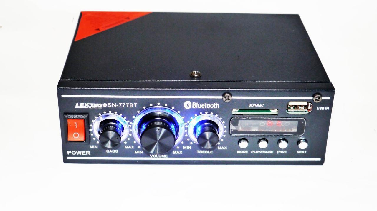 Усилитель звука Lexing SN-777BT 2x300W Bluetooth