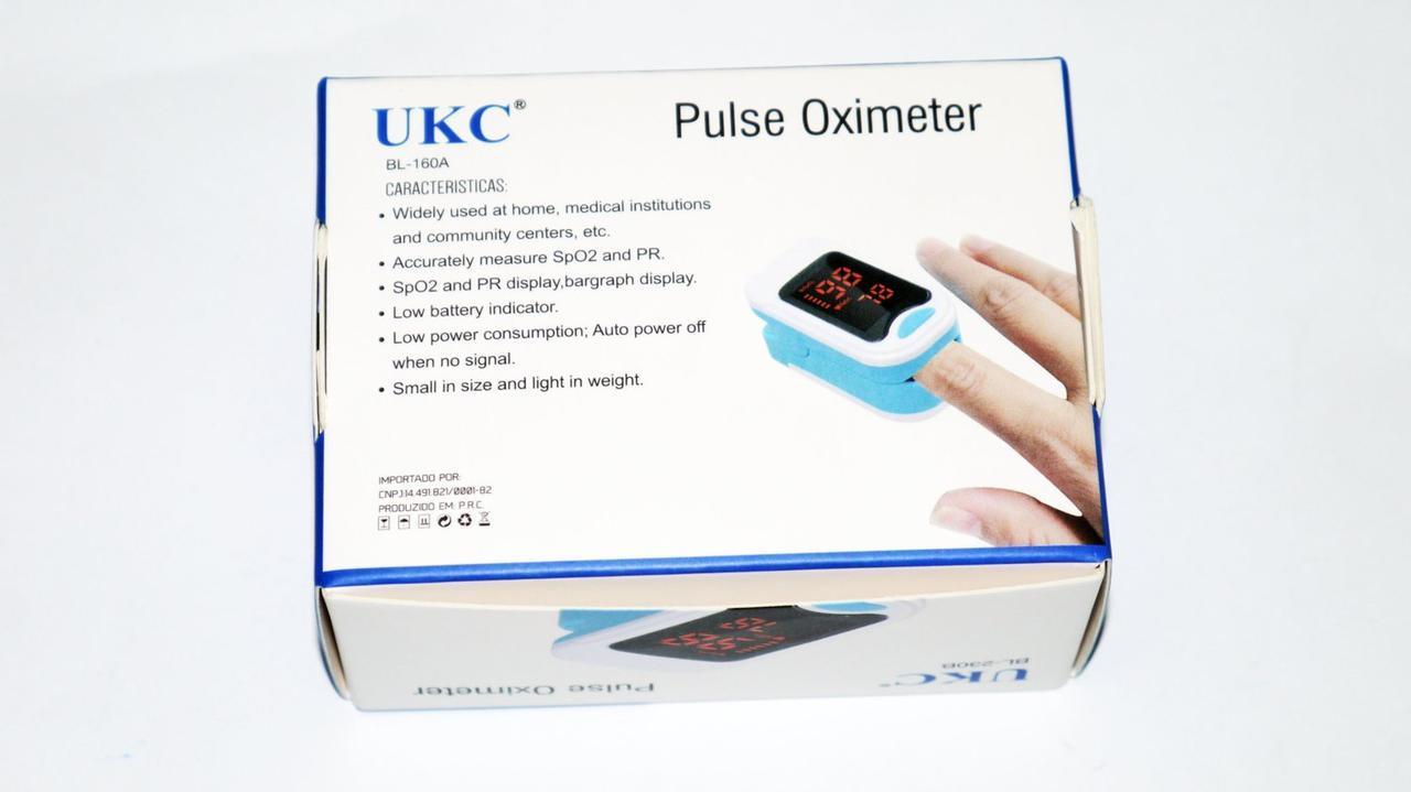 Пульсометр BL-230B на палець UKC Pulse Oximeter