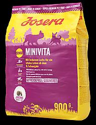 Сухий корм Josera MiniVita (для літніх собак дрібних порід) 900 г