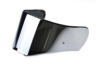 Визор (Стекло) для шлемов LS2 FF390 Breaker зеркальный (серебристый)
