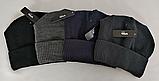 М 5086 Шапка мужская, акрил, флис, разные цвета, фото 2