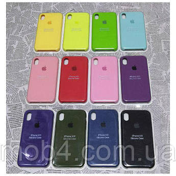 Брендовый Чехол Silicone case High copy для Apple iPhone XR