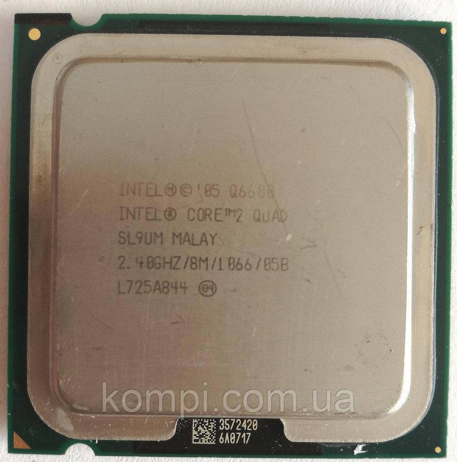 Процессор Intel Core 2 Quad Q6600 ГАРАНТІЯ 3 МІС