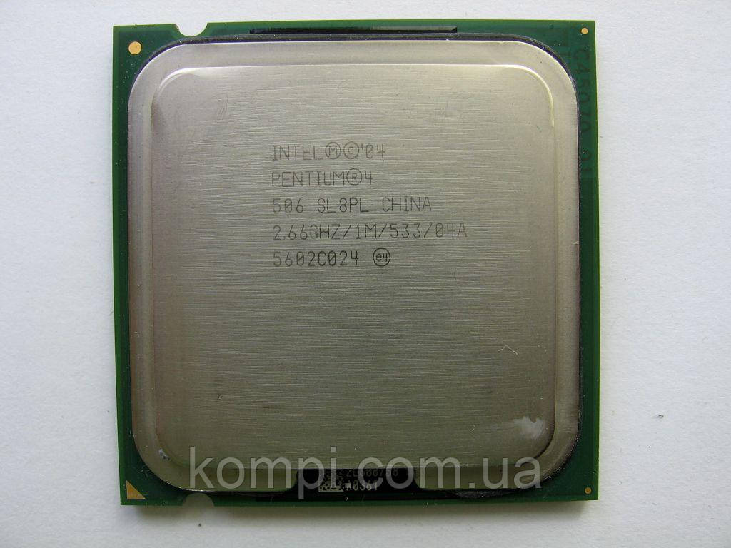 Процессор Intel Pentium 4 506  S775
