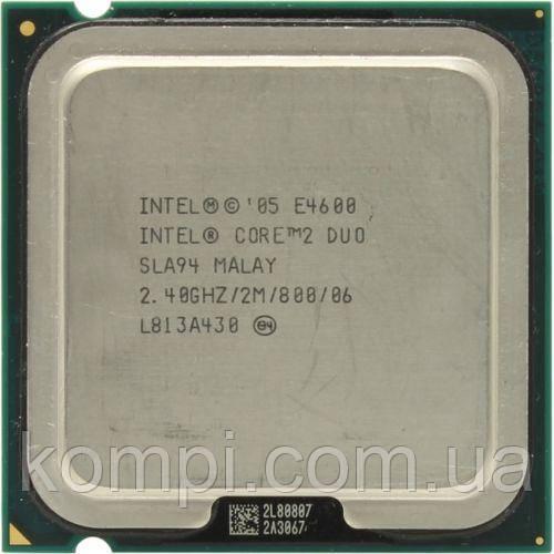 Процесор Intel c2d  E4600  S775