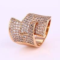 Безумно красивое Кольцо, размер 19, Luxury