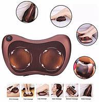 Массажная Подушка Massage Pillow QY-8028, Роликовый массажер для спины и шеи