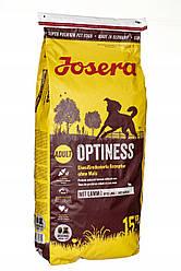 Сухий корм Josera Optiness (для дорослих собак середніх та великих порід) 15 кг