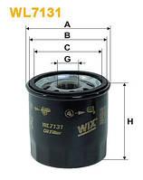 Масляный фильтр WIXFILTRON TOYOTA/  (WX WL7131)