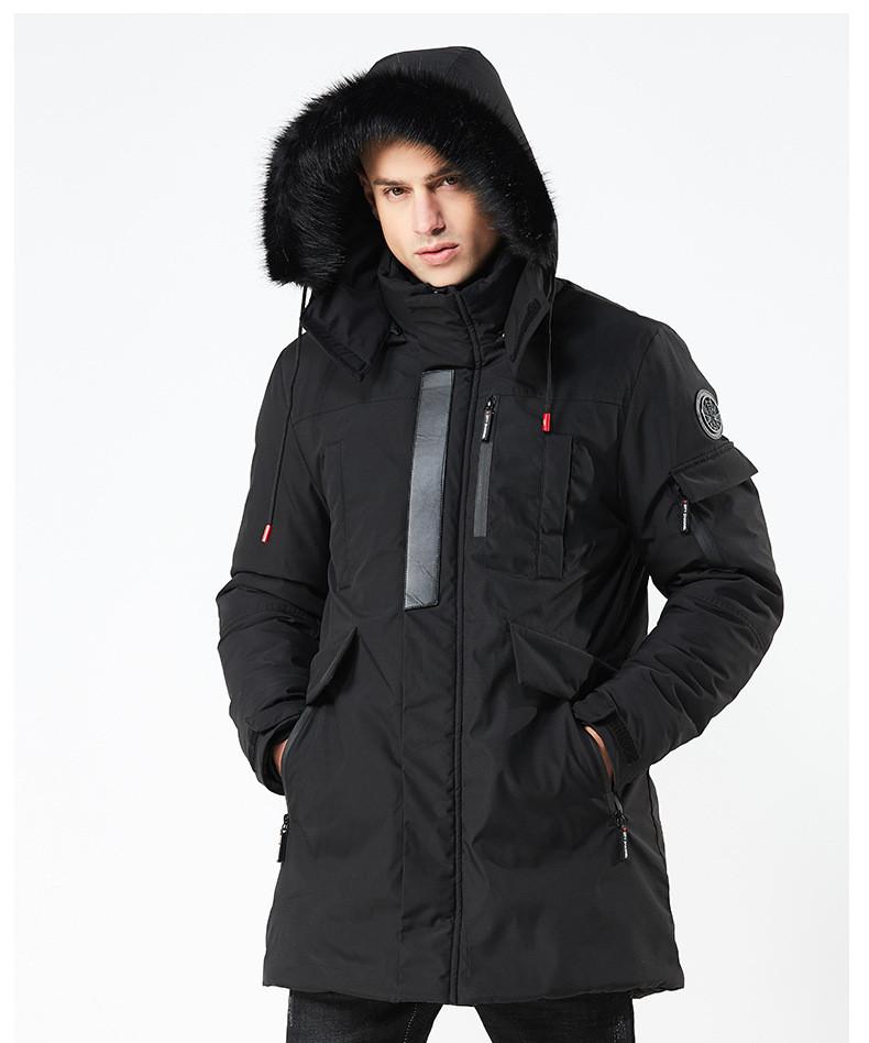Куртка мужская  осень зима бренд Metropolis (Канада) размер 52 черная 03001/014