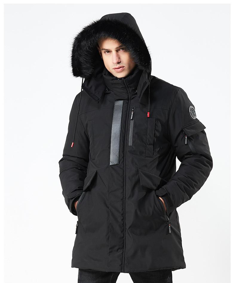 Куртка мужская осень зима бренд Metropolis (Канада) размер 54 черная 03001/015