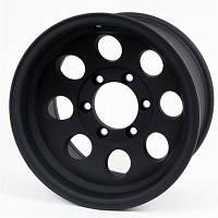 Диск колесный  16X8 6X5,5HC (черный матовый)