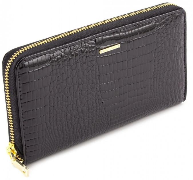 Клатч Marco Coverna черного цвета прикоснитесь к совершенству кожаных аксессуаров из 100% кожи 403-2500-1