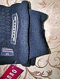 Фліс бавовна з хутро на манжеті Краще Теплий Рукавички чоловічі тільки оптом, фото 5