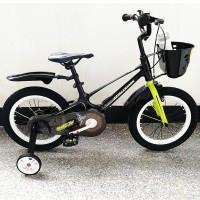 Велосипед SHADOW - 16д Магниевая рама (Magnesium). Черно-салатовый