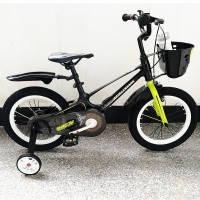 Велосипед SHADOW - 16д Магниевая рама (Magnesium). Черно-салатовый, фото 1