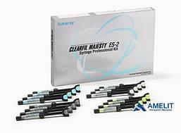 Клирфил Меджести EС-2 (Clearfil Majesty ES-2, Kuraray), набор 16 шприцов + расцветка