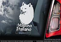 Итальянский шпиц (итальянский вольпино) (Volpino Italiano) стикер